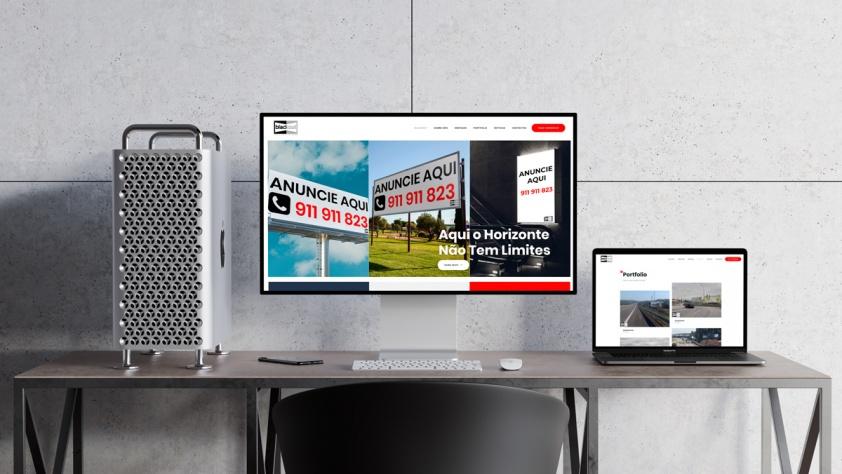 A Blackout lança website - Blackout Publicidade Exterior