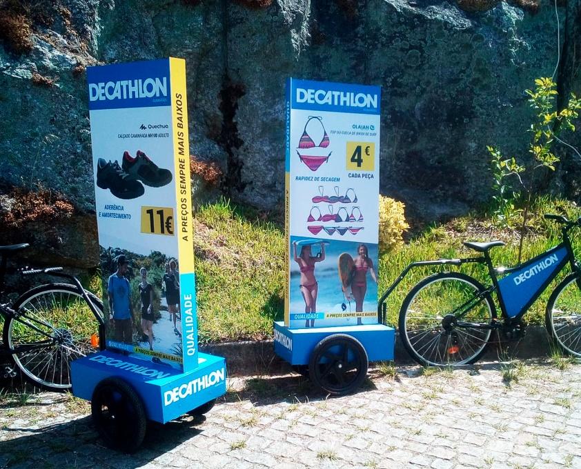 Decathlon - Blackout - Publicidade Exterior