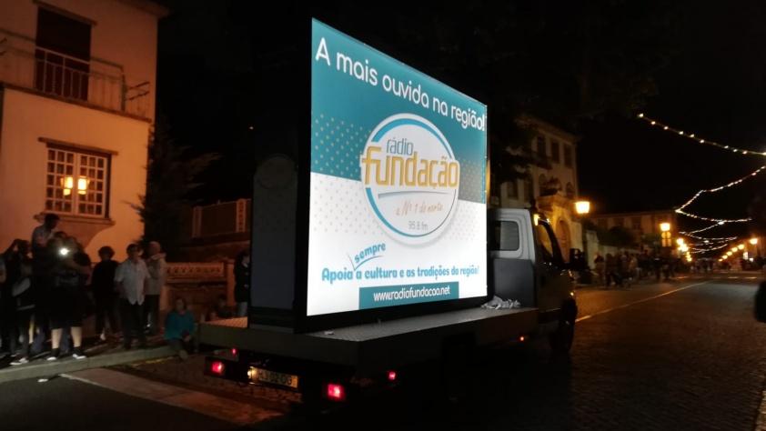 Rádio Fundação - Blackout - Publicidade Exterior