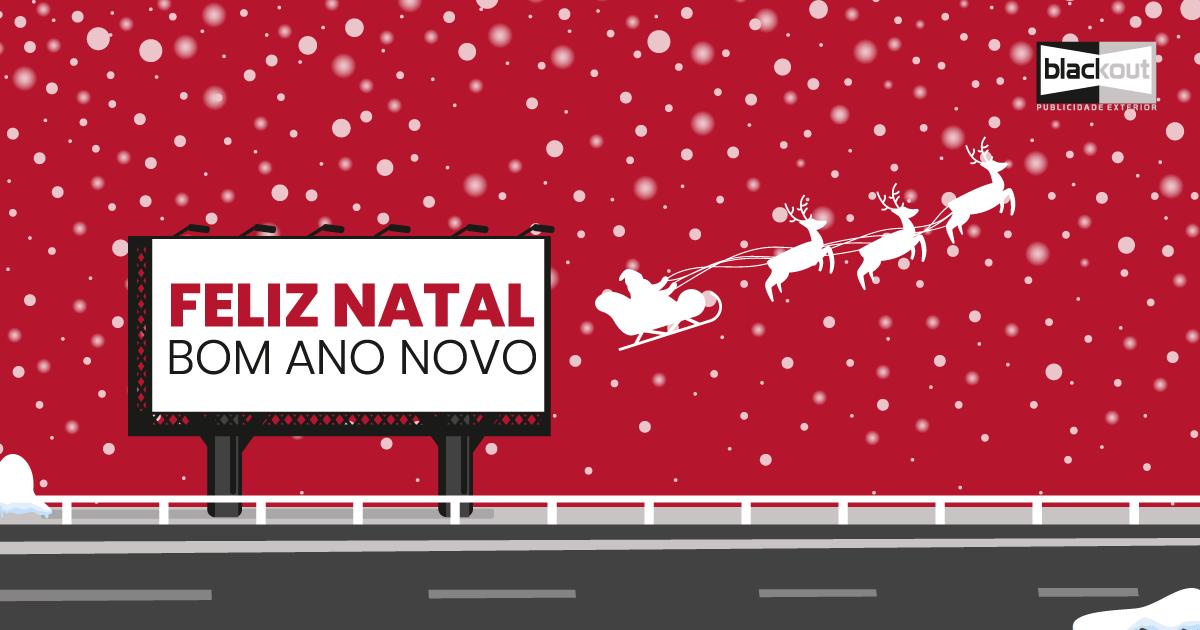 Feliz Natal e Bom Ano Novo - Blackout